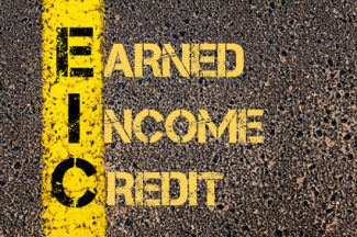 earned income credit table chart